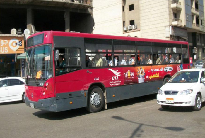 Bus Ads Egypt
